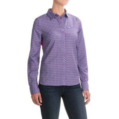 photo: Icebreaker Terra Long Sleeve Plaid long sleeve performance top