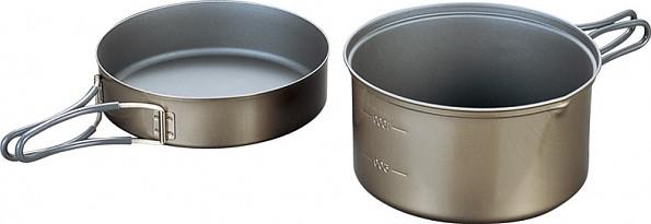 Evernew Ti Non-Stick DX3 Pot Set