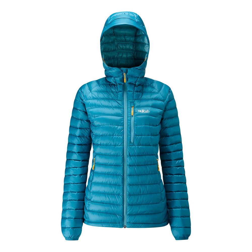 photo: Rab Women's Microlight Alpine Long Jacket down insulated jacket