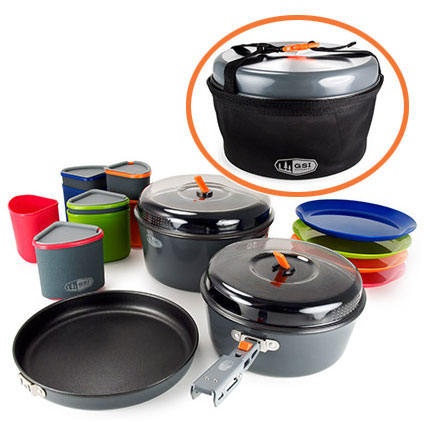 photo: GSI Outdoors Bugaboo Camper Cookset pot/pan
