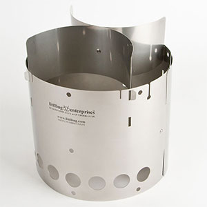 photo of a Littlbug solid fuel stove