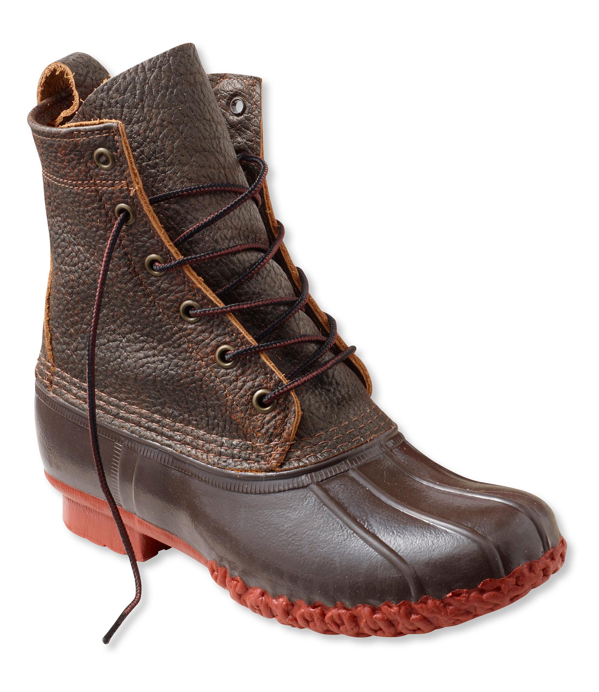 """L.L.Bean Bean Boots, Bison 8"""""""