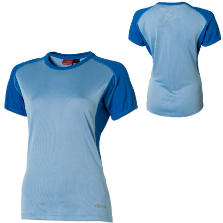 photo: Sherpa Adventure Gear Khunde Tee short sleeve performance top
