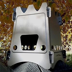 Emberlit UL Original Titanium Stove