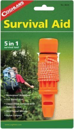 photo: Coghlan's 5-in-1 Survival Aid survival kit