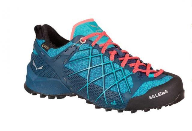 photo: Salewa Women's Wildfire GTX approach shoe