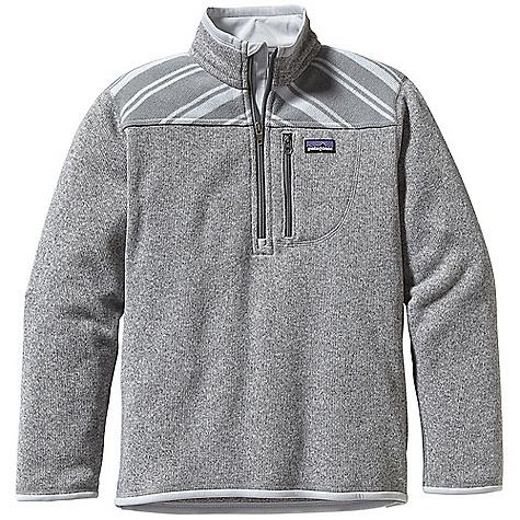 photo: Patagonia Better Sweater Zip Neck fleece top