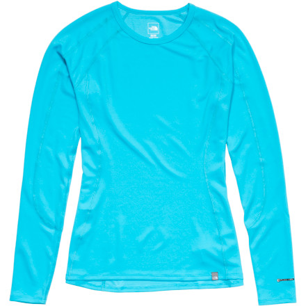 photo: The North Face Women's Light Long Sleeve Crew long sleeve performance top