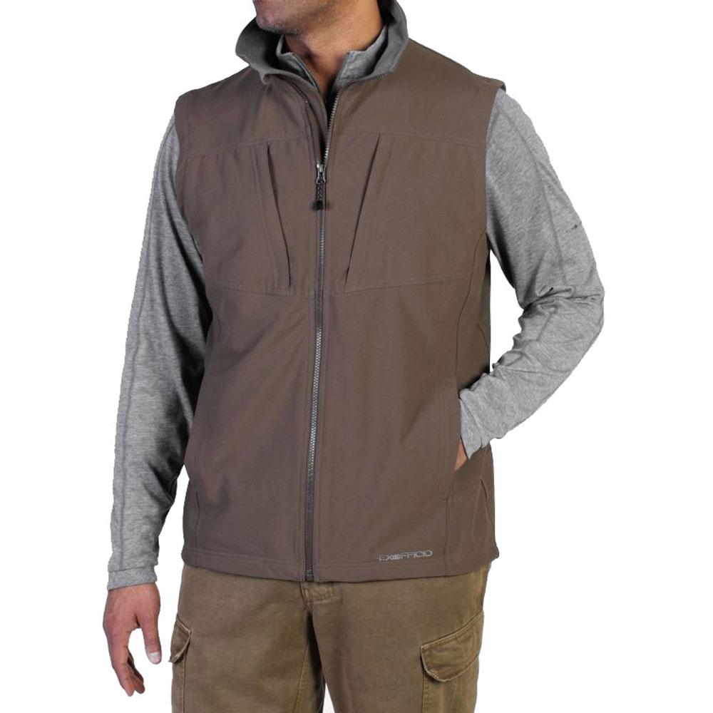 photo: ExOfficio Men's FlyQ Vest soft shell vest