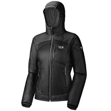 Mountain Hardwear Hooded Compressor PL Jacket