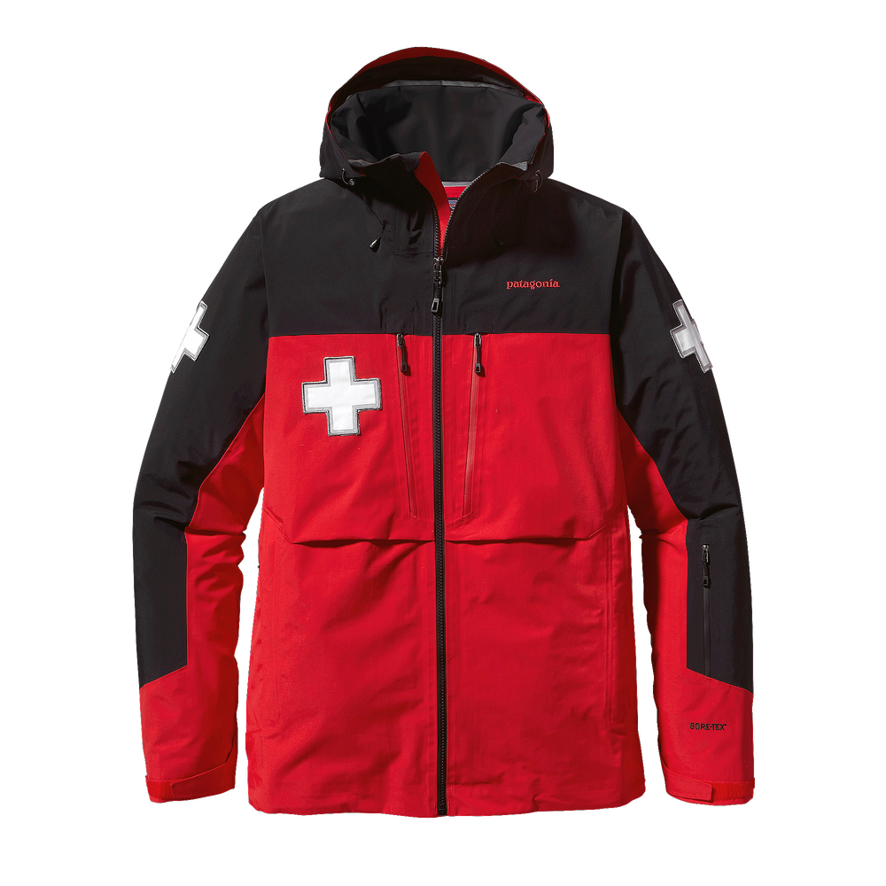 photo: Patagonia 3-Layer Patrol Jacket snowsport jacket
