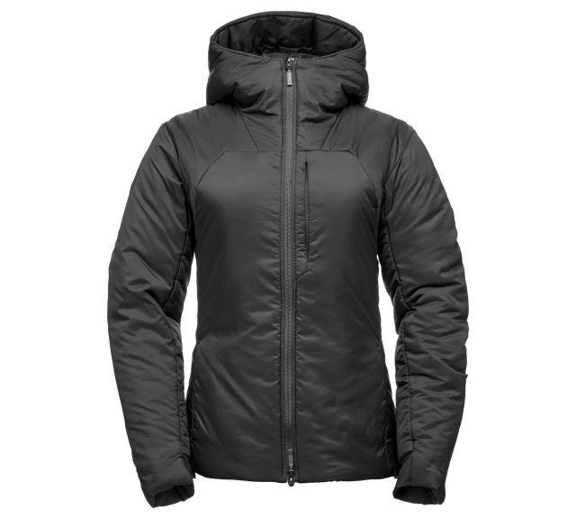 photo: Black Diamond Women's Stance Belay Parka synthetic insulated jacket