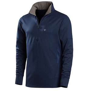 photo: Vargo Bedrock 1/4 Zip long sleeve performance top