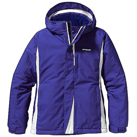 photo: Patagonia Girls' Snow Flyer Jacket waterproof jacket