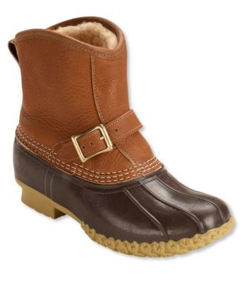L.L.Bean Bean Boots,  Shearling Lounger Pull-On 7""