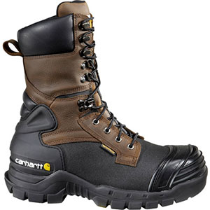 photo: Carhartt 10-inch Insulated Composite Toe Pac Boots winter boot