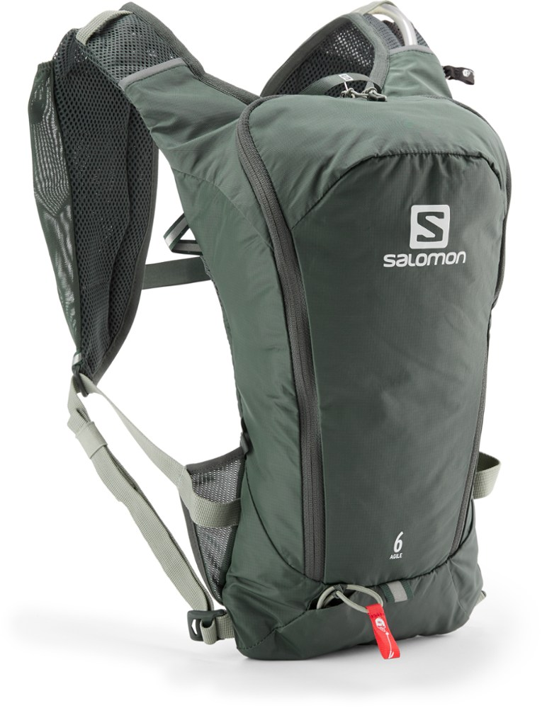 photo: Salomon Agile 6 Set hydration pack