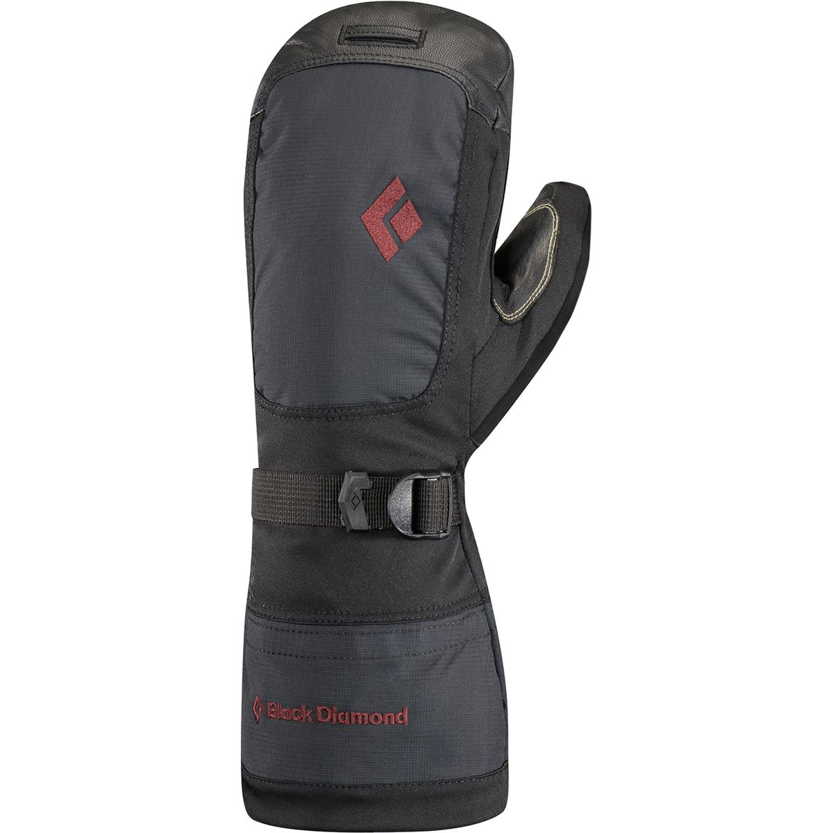 photo: Black Diamond Women's Mercury Mitt insulated glove/mitten