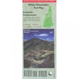 Appalachian Mountain Club White Mountains Trail Map: Franconia-Pemigewassat