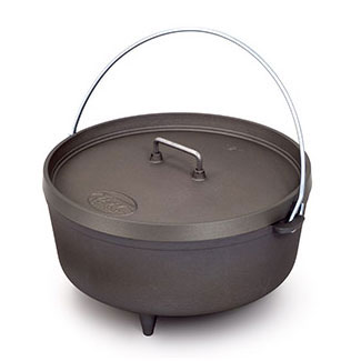 GSI Outdoors Hard Anodized Extreme Dutch Oven