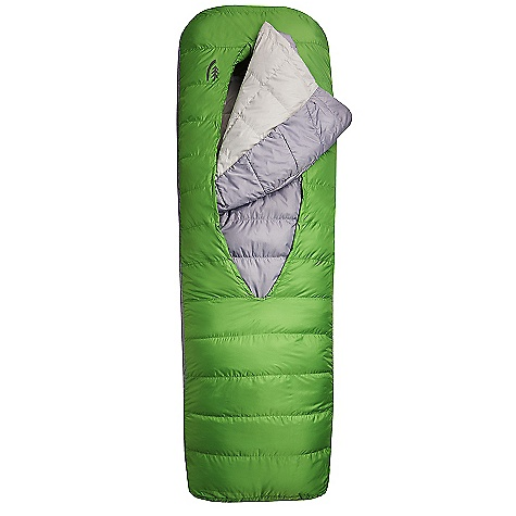 photo: Sierra Designs Frontcountry Bed 600 SYN 2-Season 3-season down sleeping bag