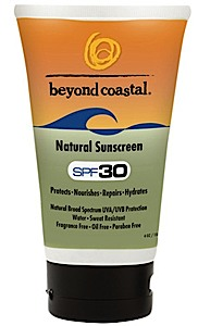 photo: Beyond Coastal Natural SPF 30 sunscreen