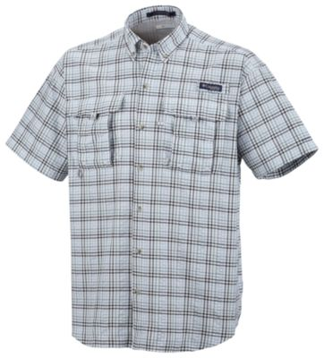 photo: Columbia PFG Super Bahama Short Sleeve Shirt hiking shirt