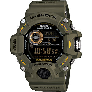 photo: Casio G-Shock Rangeman GW9400-3 altimeter watch