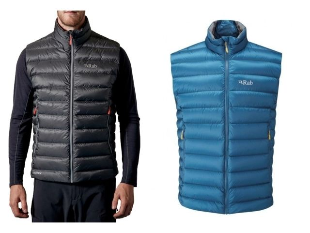 photo: Rab Electron Vest down insulated vest