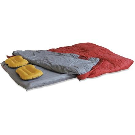 photo: Exped Dreamwalker DUO Syn 160 warm weather synthetic sleeping bag