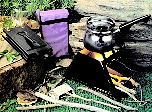 photo of a Innovative Products solid fuel stove
