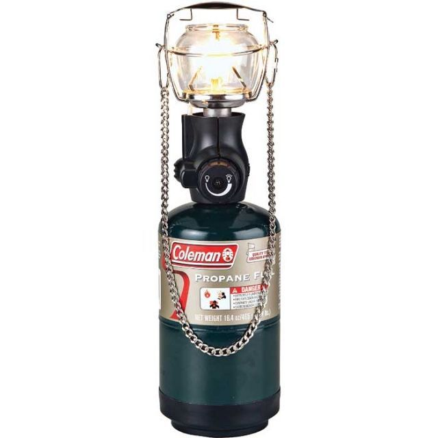 photo: Coleman 1-Mantle Compact Propane Lantern fuel-burning lantern
