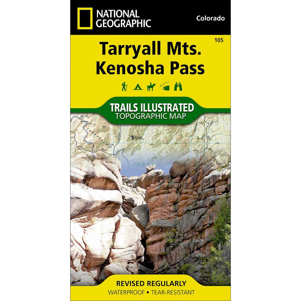 National Geographic Tarryall Mountains/Kenosha Pass Trail Map