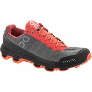 photo of a On trail running shoe