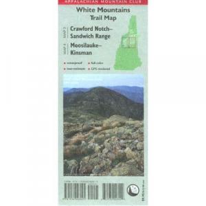 Appalachian Mountain Club White Mountains Trail Map: Crawford Notch-Sandwich Range and Moosilauke-Kinsman