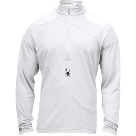 photo: Spyder Orion T-Neck long sleeve performance top