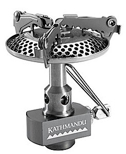 photo: Kathmandu Backpacker Stove Lite compressed fuel canister stove