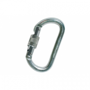 Fixe Faders Safety Steel Screwgate Carabiner: #405-S