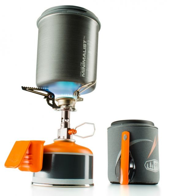 photo: GSI Outdoors Ultralight Soloist Cook System pot/pan