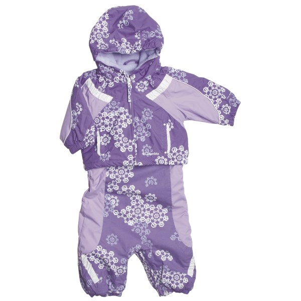 photo: Columbia Edie Princess Set kids' snowsuit/bunting