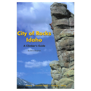 photo: Globe Pequot City of Rocks Idaho - A Climbers Guide us mountain states guidebook