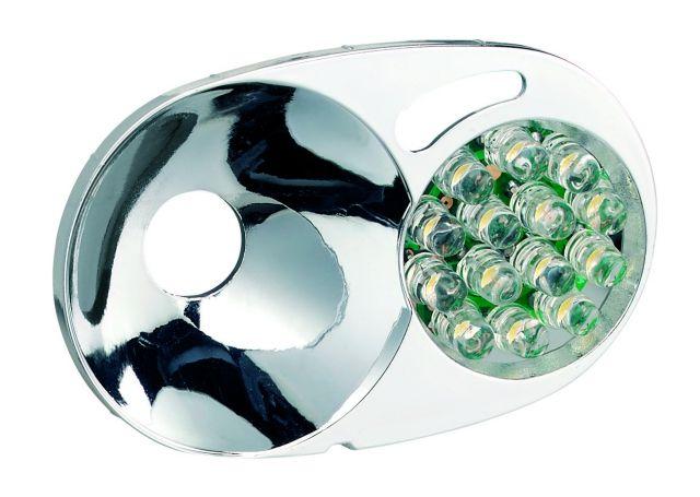 photo: Petzl Modu'LED 14 Duo headlamp