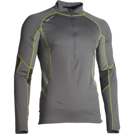 photo: Mammut All-Year Zip Longsleeve base layer top
