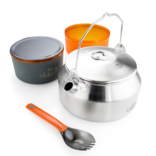 photo: GSI Outdoors Glacier Ketalist - Stainless pot/pan
