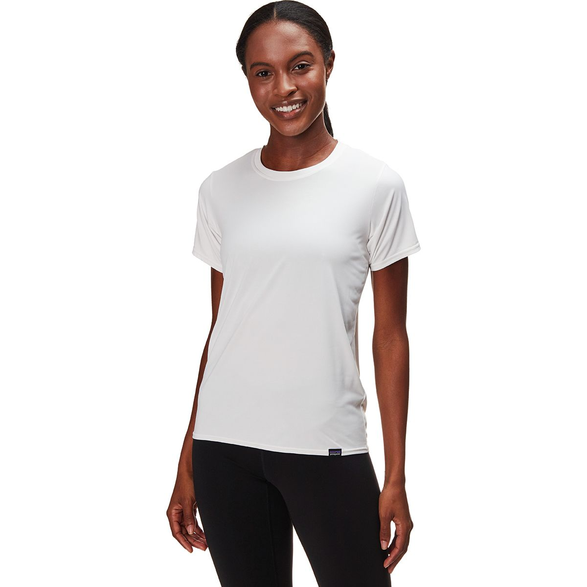 photo: Patagonia Women's Capilene Cool Daily Shirt short sleeve performance top