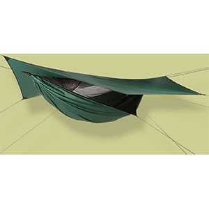 photo: Hennessy Hammock Safari Deluxe Asym Zip hammock