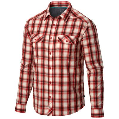 photo: Mountain Hardwear Gilmore Long Sleeve Shirt hiking shirt