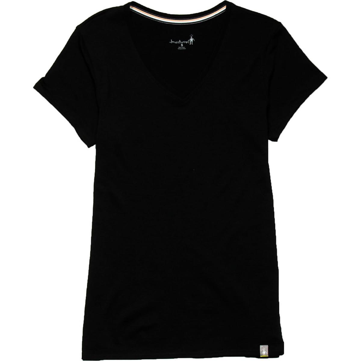 photo: Smartwool Short Sleeve V-Neck Tee hiking shirt
