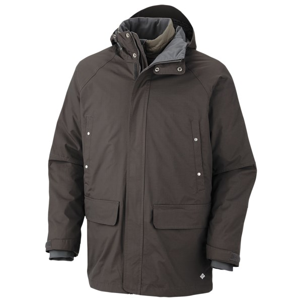 photo: Columbia Saskatoon Interchange Jacket component (3-in-1) jacket