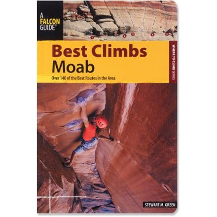 photo: Falcon Guides Best Climbs - Moab us mountain states guidebook